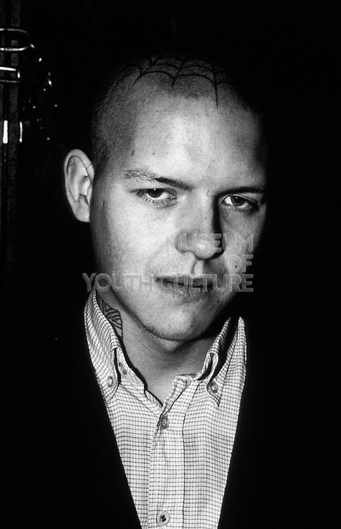 Skinhead portrait, London, U.K, Early 1980's.