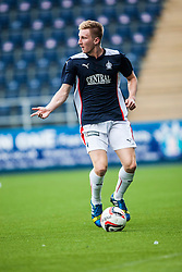 Falkirk's Liam Dick. Falkirk  2 v 2 Rotherham Utd, pre-seaon friendly.<br /> &copy; Michael Schofield.