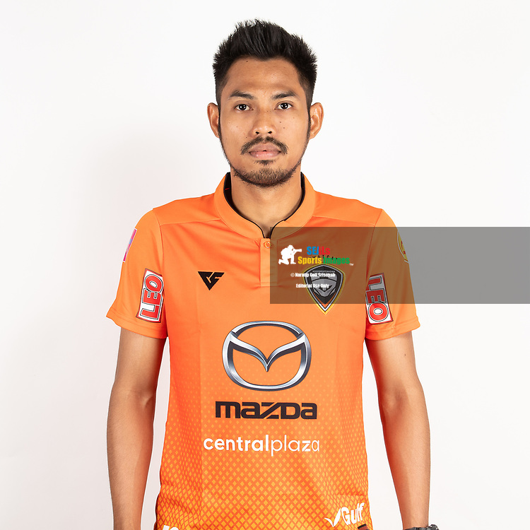 THAILAND - JUNE 25: Deacha Srangdee #25 of Nakhonratchasrima Mazda FC on June 25, 2019.<br /> .<br /> .<br /> .<br /> (Photo by: Naratip Golf Srisupab/SEALs Sports Images/MB Media Solutions)