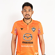 THAILAND - JUNE 25: Deacha Srangdee #25 of Nakhonratchasrima Mazda FC on June 25, 2019.<br /> .<br /> .<br /> .<br /> (Photo by: Naratip Golf Srisupab/SEALs Sports Images/MB Media Solutions)