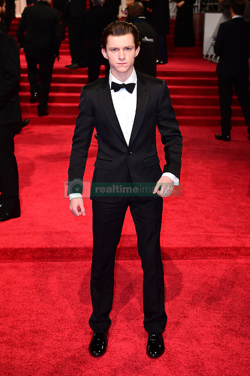 Tom Holland attending the EE British Academy Film Awards held at the Royal Albert Hall, Kensington Gore, Kensington, London. PRESS ASSOCIATION Photo. Picture date: Sunday 12 February 2017. See PA Story SHOWBIZ Bafta. Photo credit should read: Ian West/PA Wire