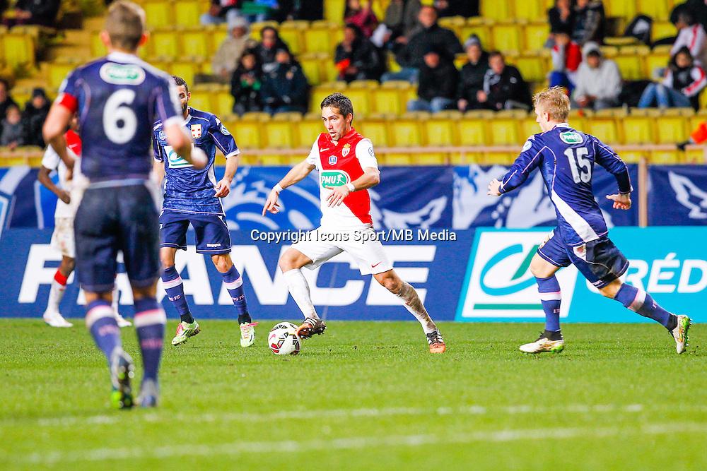 Joao Moutinho  - 21.01.2015 - Monaco / Evian Thonon   - Coupe de France 2014/2015<br /> Photo : Sebastien Nogier / Icon Sport