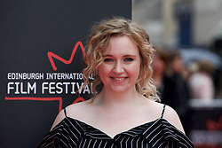 "Katherine Pearce, on the red carpet at the Edinburgh International Film Festival world Premier of ""England is Mine"" at Edinburgh's Festival Theatre. Sunday, 2nd July, 2017(c) Brian Anderson 