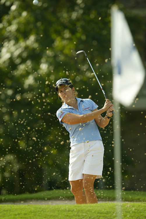 Rachel Teske.2003 Samsung World Championship.3rd Round.TPC at the Woodlands.The Woodlands, TX.Saturday, October 11 2003..photograph by Darren Carroll