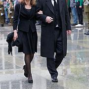 LUX/Luxemburg/20190504 -  Funeral<br /> of HRH Grand Duke Jean, Uitvaart Groothertog Jean, Carlos Javier Bernardo prins de Bourbon de Parme en partner Annemarie Gualthérie van Weezel
