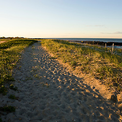Long Beach in Stratford, Connecticut. This body of water is known as Lewis Gut and is adjacent to the Great Meadows Unit of McKinney National Wildlife Refuge.