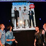 NLD/Amsterdam/20110907 - Presentatie Cosmopolitan Man 2011, Don Diablo, Jim Bakkum Art Rooijakkers en Jan Kooijman