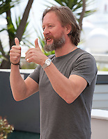 Director David Mackenzie at the Hell Or High Water film photo call at the 69th Cannes Film Festival Monday 16th May 2016, Cannes, France. Photography: Doreen Kennedy