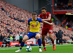 LIVERPOOL, ENGLAND - Saturday, September 22, 2018: Liverpool's Trent Alexander-Arnold during the FA Premier League match between Liverpool FC and Southampton FC at Anfield. (Pic by Jon Super/Propaganda)