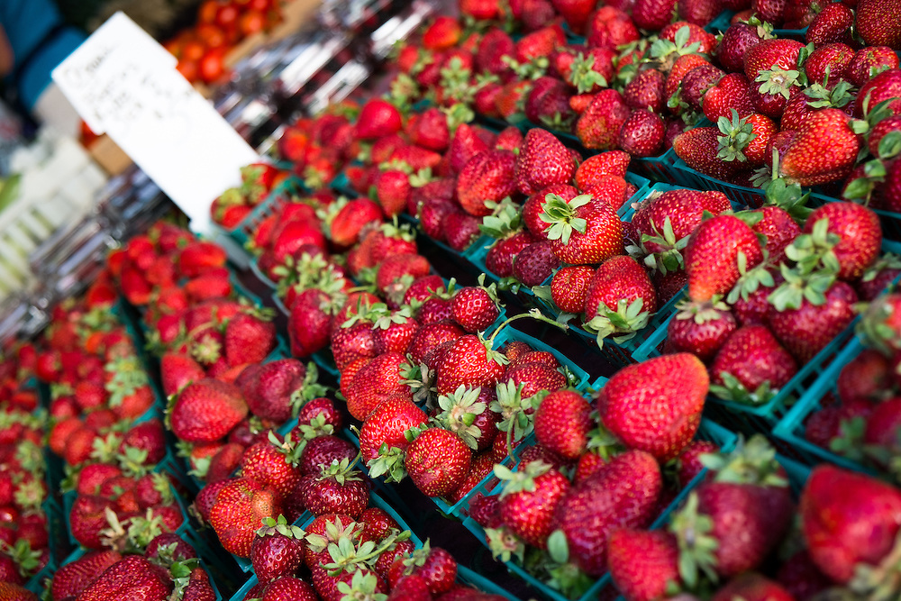 Strawberries at the Farmers Market | June 30, 2013
