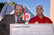 17169Target Check Presentation to Terry Hogan for Students Hurricane victums