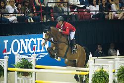 Schwizer Pius, (SUI), Toulago<br /> Longines FEI World Cup™ Jumping Final II<br /> Las Vegas 2015<br />  © Hippo Foto - Dirk Caremans<br /> 18/04/15