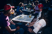 The porch of the Copper Queen Hotel is a popular place to relax in Bisbee, Arizona.©1988 Edward McCain. All rights reserved. McCain Photography, McCain Creative, Inc.