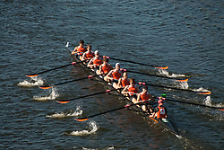 The Head of the Charles Regatta on the Charles River, Boston, Massachusetts, US, October 2007