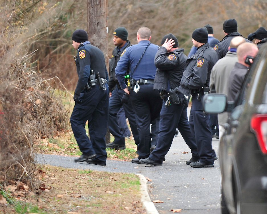 Emergency crews continue to search for a missing child on Jan. 1st, 2016, on South Aubrey Street in Allentown. The five year old autistic child went missing around 11pm from a family gathering on the east side of Allentown. (Chris Post | lehighvalleylive.com)