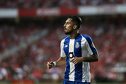 October 7, 2018 - Lisbon, Portugal - Alex Telles of Porto during the Portuguese League football match between SL Benfica and FC Porto at Luz Stadium in Lisbon on October 7, 2018. (Credit Image: © Carlos Palma/NurPhoto/ZUMA Press)