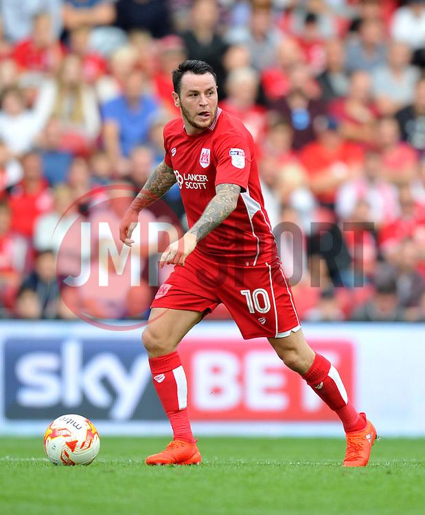 Lee Tomlin of Bristol City - Mandatory by-line: Paul Knight/JMP - 17/09/2016 - FOOTBALL - Ashton Gate Stadium - Bristol, England - Bristol City v Derby County - Sky Bet Championship