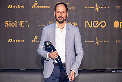 Ante Šimundža, head coach of Mura during SPINS XI Nogometna Gala 2019 event when presented best football players of Prva liga Telekom Slovenije in season 2018/19, on May 19, 2019 in Slovene National Theatre Opera and Ballet Ljubljana, Slovenia. Photo by Vid Ponikvar / Sportida