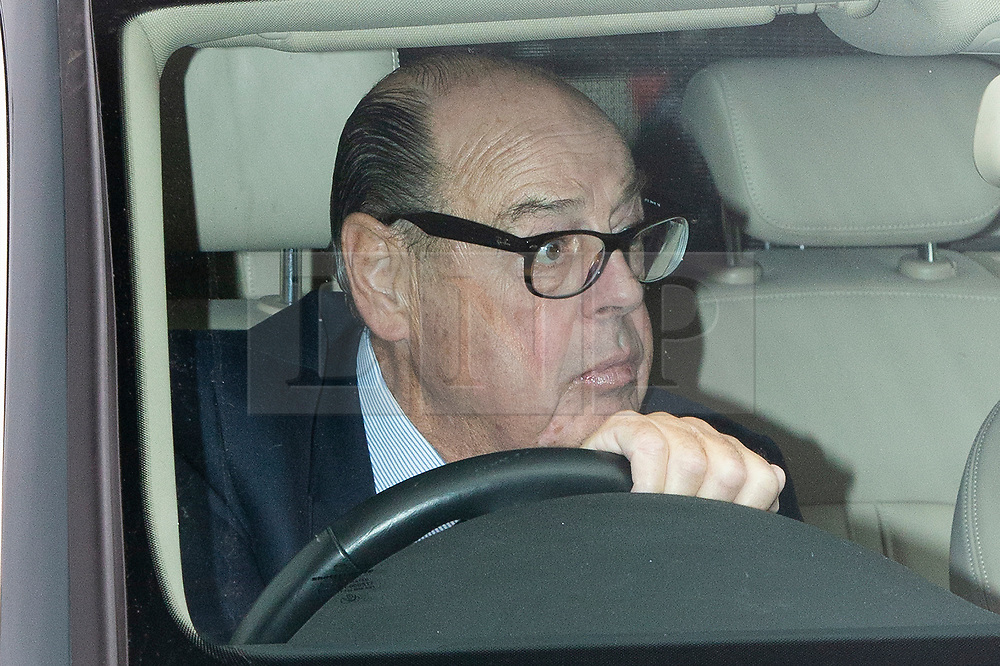 © Licensed to London News Pictures. 03/09/2019. London, UK. MP for Mid Sussex Nicholas Soames arrives at The Houses of Parliament. Parliament is returning from the summer recess today with MPs expected to try to stop a no-deal Brexit. Prime Minister Boris Johnson has threatened to hold a snap election if the legislation is passed.  Photo credit: George Cracknell Wright/LNP