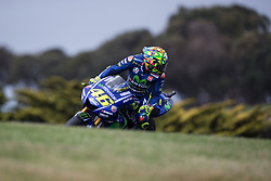 October 20, 2017 - Phillip Island, Australie - VALENTINO ROSSI - ITALIAN - MOVISTAR YAMAHA MotoGP - YAMAHA (Credit Image: © Panoramic via ZUMA Press)