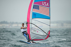 2012 Olympic Games London / Weymouth<br /> RSX man racing day 1 <br /> RS:X MenUSAWillis Robert