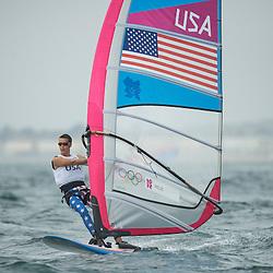 2012 Olympic Games London / Weymouth<br /> RSX man racing day 1 <br /> RS:X MenUSAWillis Robert