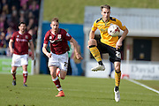 Newport County Midfielder Alex Rodman during the Sky Bet League 2 match between Northampton Town and Newport County at Sixfields Stadium, Northampton, England on 25 March 2016. Photo by Dennis Goodwin.