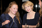 AMANDA CRAIG; JANE THYNNE, Launch of Rachel Kelly's memoir 'Black Rainbow' about recovering from depression with the help of poetry published by Hodder & Stoughton , ( Author proceeds will be given to the charities SANE and United Response ). Cafe of the National Gallery.  London. 7 May 2014