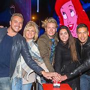 NLD/Amsterdam/20150929 - Start verkoop Disney in Concert 2015, Jamai Loman, Anita Meyer, Thomas Berge, Kim Lian van der Meij en Sjors van der Panne