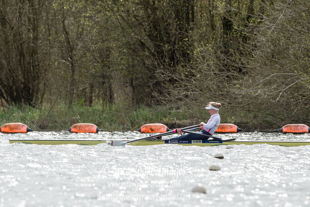 Caversham. Berkshire. UK<br /> GBR LW1X. Imogen WALSH.<br /> 2016 GBRowing European Team Announcement,  <br /> <br /> Wednesday  06/04/2016 <br /> <br /> [Mandatory Credit; Peter SPURRIER/Intersport-images]