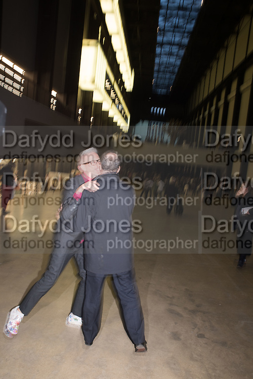 PATRICK COX; VISCOUNT LINLEY, New Tate Modern opening party, Bankside. London. 16 June 2016