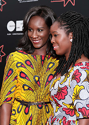 Edinburgh International Film Festival, Friday 30th June 2017<br /> <br /> 1745 Short Film<br /> <br /> Sisters Moyo and Morayo Akande from Glasgow from the short film '1745' attended a red carpet for the world premiere of their movie<br /> <br />  <br /> <br /> (c) Alex Todd | Edinburgh Elite media