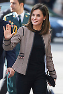 050418 Queen Letizia attends 2nd Conference on informative treatment of Disability in Social Network