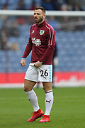 26 Phillip Bardsley for Burnley FC during the Premier League match between Burnley and Fulham at Turf Moor, Burnley, England on 12 January 2019.