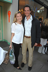 The HON.EDWARD & MRS TOLLEMACHE at the launch of The Rupert Lund Showroom, 61 Chelsea Manor Street, London SW3 on 2nd May 2007.<br /><br />NON EXCLUSIVE - WORLD RIGHTS