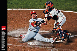 Carlos Ruiz and Buster Posey, Sports Illustrated, 2010