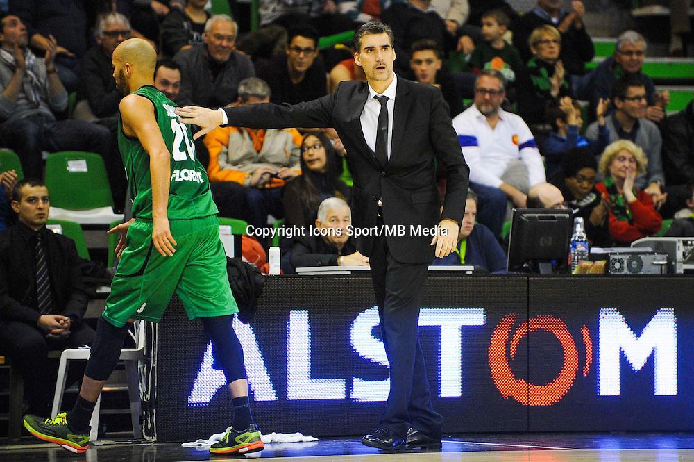 Yohann SANGARE / J.D JACKSON  - 29.12.2014 - Lyon Villeurbanne / Le Havre - 16e journee Pro A<br />Photo : Jean Paul Thomas / Icon Sport