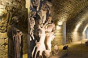 Kasematten der Festung Dresden, das Fritz Monument, Dresden, Sachsen, Deutschland.|.Dresden, Fortress of Dresden , Germany