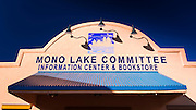 Mono Lake Committee visitor center, Lee Vining, California USA