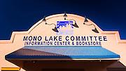 Mono Lake Committee visitor center, Lee Vining, California USA