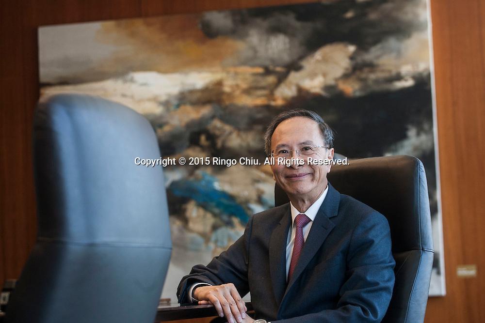 Dunson Cheng, CEO, Cathay Bank. (Photo by Ringo Chiu)