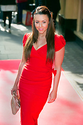 © Licensed to London News Pictures 09/02/2011 London, UK. .Michelle Heaton arrives at the Waldorf Hotel, London for the seventh Tesco Mum of the Year Awards..Photo credit : Simon Jacobs/LNP