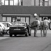 NLD/Huizen/19930607 - Arrestatie verdachte Piet B. in Huizen door arrestatieteam voor de AH Oosterbeek moorden en overval