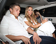 31.JULY.2014. LONDON<br /> <br /> CODE - MAG<br /> <br /> LAUREN POPE AND LEWIS BLOOR SEEN ARRIVING AT THEIR LONDON HOTEL ARRIVING IN A WHITE ROLLS ROYCE, LEWIS WAS SEEN CARRYING 2 LARGE BAGS FOR THEIR 2 DAY STAY AT THE HOTEL<br /> <br /> BYLINE: EDBIMAGEARCHIVE.CO.UK<br /> <br /> *THIS IMAGE IS STRICTLY FOR UK NEWSPAPERS AND MAGAZINES ONLY*<br /> *FOR WORLD WIDE SALES AND WEB USE PLEASE CONTACT EDBIMAGEARCHIVE - 0208 954 5968*