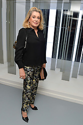 CATHERINE DENEUVE at the Louis Vuitton Series 3 VIP Launch held at 180 Strand, London on 20th September 2015.