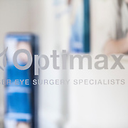 Optimal laser eye surgery. Corporate photography by Brian Lloyd Duckett, London
