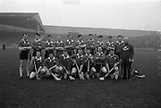17/03/1965<br /> 03/17/1965<br /> 17 March 1965<br /> Railway Cup Hurling final  Munster v Leinster at Croke Park, Dublin. The Munster team that was defeated by Leinster in the final.