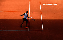 May 7, 2019 - Madrid, Spain - Naomi Osaka (JPN) in her match against Sara Sorribes (SPA) during day four of the Mutua Madrid Open at La Caja Magica in Madrid on 7th May, 2019. (Credit Image: © Juan Carlos Lucas/NurPhoto via ZUMA Press)
