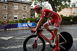 Pernille Mathiesen (DEN) at UCI Road World Championships 2019 Elite Women's TT a 30.3 km individual time trial from Ripon to Harrogate, United Kingdom on September 24, 2019. Photo by Sean Robinson/velofocus.com