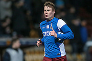 Stephen Darby (C) (Bradford City) before the Sky Bet League 1 match between Bradford City and Southend United at the Coral Windows Stadium, Bradford, England on 16 February 2016. Photo by Mark P Doherty.